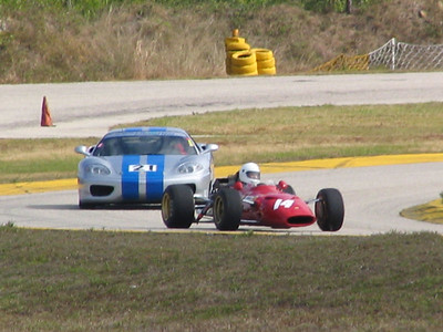 Ferrari 312 F1 1968 and 360 Challenge