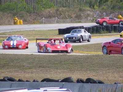 Ferrari Historic & Challenge Races at Moroso (Action photos)