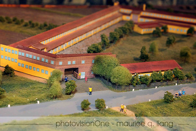 What the Ferrari factory looked like in the early days.