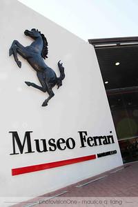 The Ferrari museum.