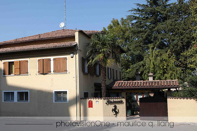 Ristoranti Cavallino across the street from the factory.