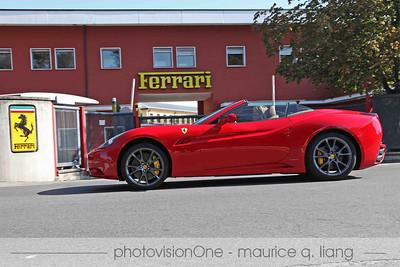 Visit to Ferrari plant and museum.  Oct 2011.