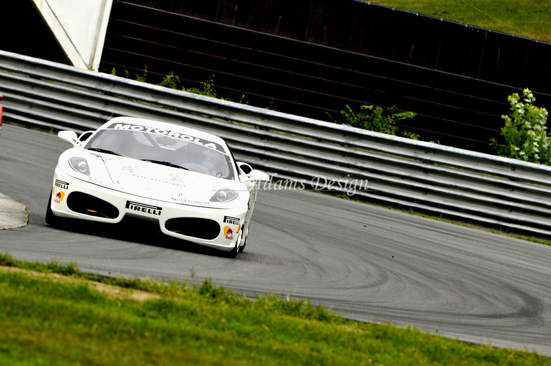 F430 Challenge @ Lime Rock Park - Turn 1