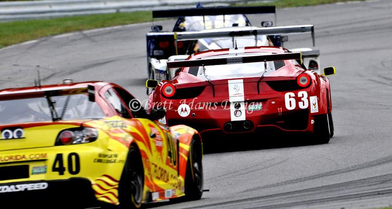 Ferrari 458 Challenge - Rolex Series Finale at Lime Rock Park, CT<br /> Drivers :Balzan, A<br /> van Overbeek, J
