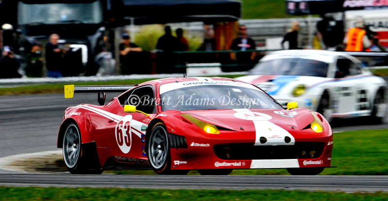 Ferrari 458 Challenge - Rolex Series Finale at Lime Rock Park, CT<br /> Drivers :Balzan, A <br />               van Overbeek, J