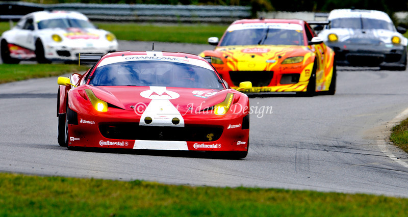 Ferrari 458 Challenge - Rolex Series Finale at Lime Rock Park, CT<br /> Drivers :Balzan, A<br /> van Overbeek, J