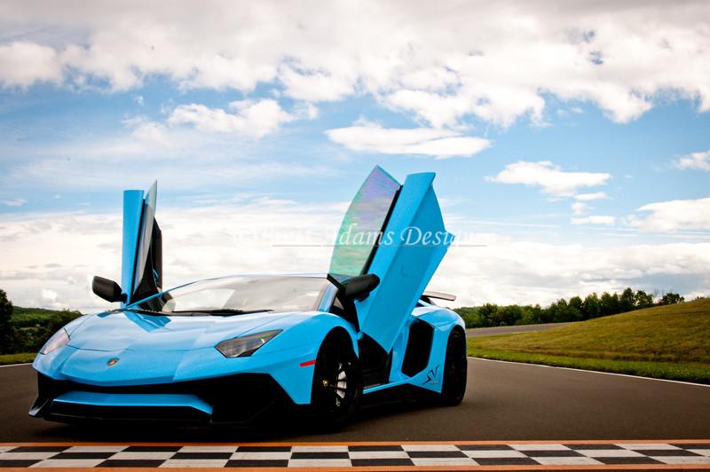 2016 Lamborghini Aventador SV - Blu Cepheus