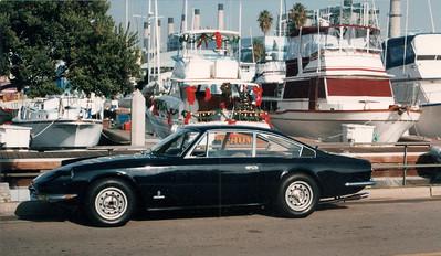 Ferrari 365 GT 2+2 at Portofino, California.