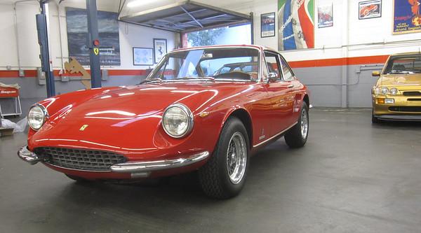 Ferrari 365 GTC at the Madison Zamperini Collection.