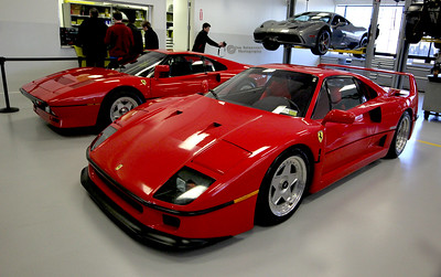 F40, Supercar #2 and 288 G.T.O., Supercar #1