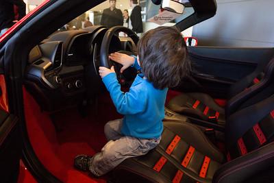 Go fast, Daddy? Go fast?