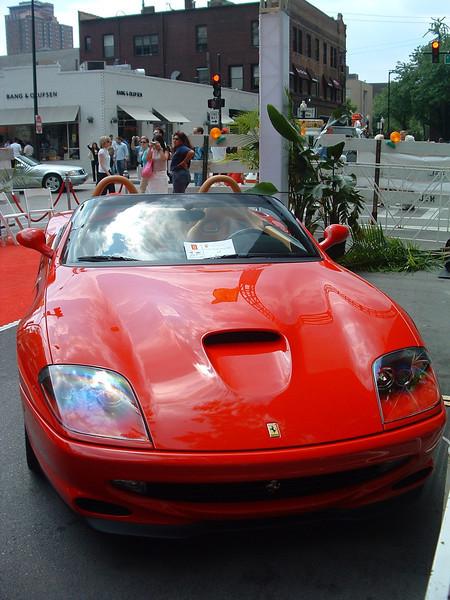 Ferraris on Oak Street 2004
