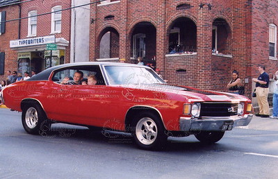 Chevelle on parade