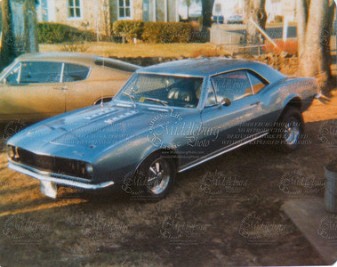 """1967 Camero Rally Sport, 350-350 Old photo, but great memories!  Of all the car pictures, this RS has the 2nd most  """"hits"""""""