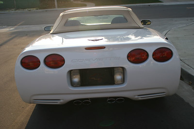 For Sale: 2002 Corvette convertible