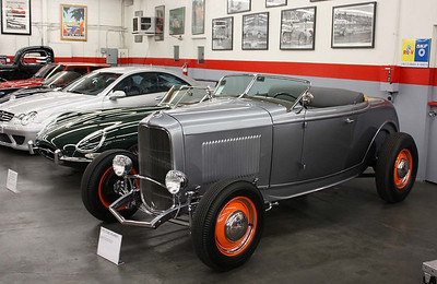 1932 Ford Roadster hot rod.