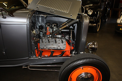 1932 Ford Roadster. Ford v-8 flat head, Offenhauser heads.