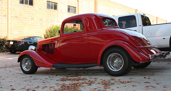 1933 Ford Coupe 3-window.
