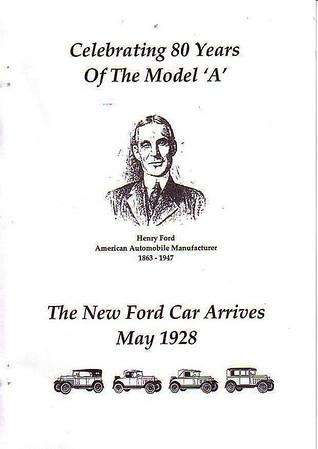 Ford 80yrs ago