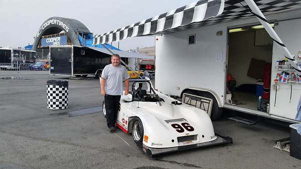 September 12, 2014. Ready for the Laguna Seca regional race as practice for the Runoffs less than a month later.