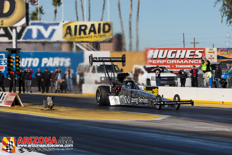 Friday's NHRA Mello Yello Drag Racing Series Top Fuel Testing from Wild Horse Pass Motorsports Park