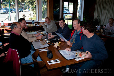 The Gang at Half Moon Bay Brewery