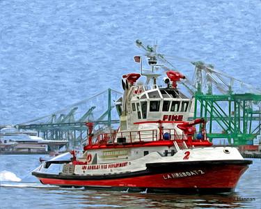 L.A. Fireboat, San Pedro, CA