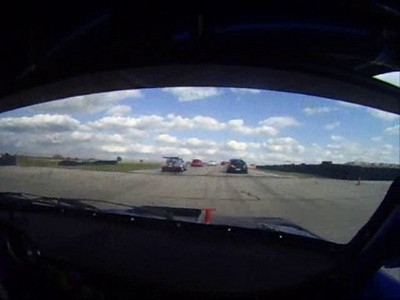 PCA club race practice starts.  This video is from Claus' car.  I am in the silver boxster # 02 that enters on the left at 0:14.  I am always nearby.