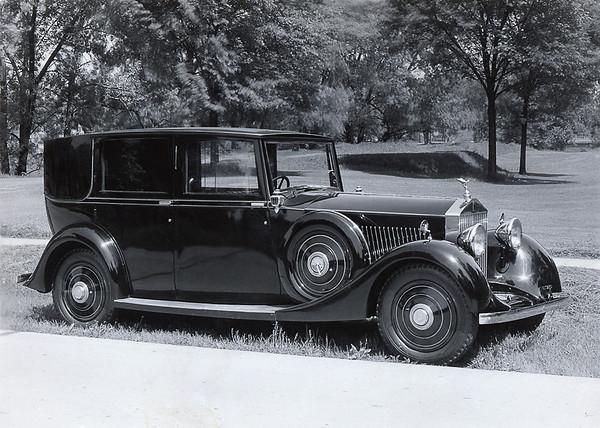 GBJ68 - 1935 Rolls-Royce 20/25  - Barker Brougham
