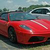 "Ferrari 16M SCUDERIA - $400,000<br /> A Ferrari salesman from NC came up to admire this Ferrari. I said, ""How much, a half million?"" He said, No! only $400,000."""