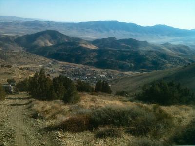 Descending on Virginia City