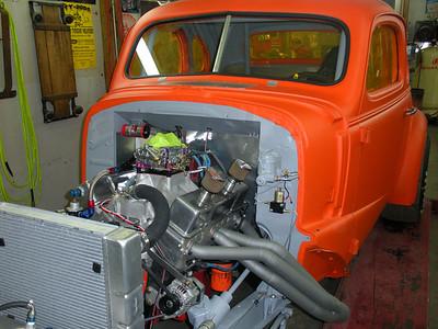 John Swick's '37 Chevy coupe