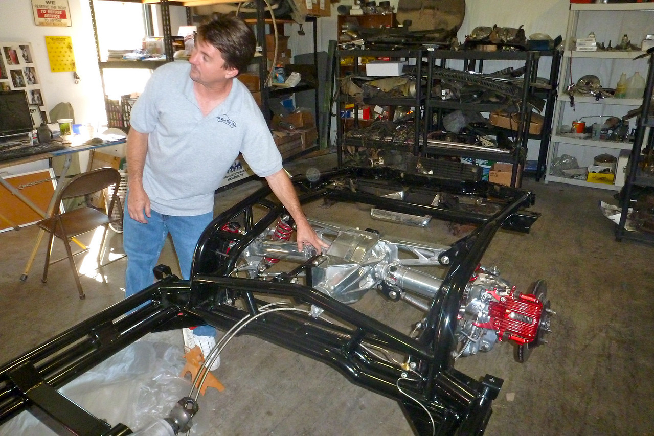 MIKE SCHELLHASS OWNER LITTLE HOT RODS