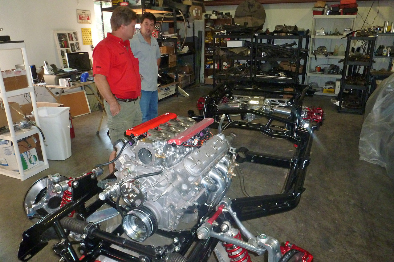 SCOTT RIGSBY AND MIKE SCHELLHASS OWNER LITTLE HOT RODS