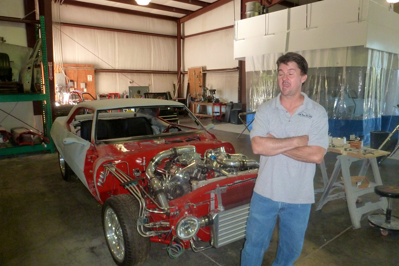 MIKE SHELLHAAS OWNER LITTLE HOT RODS