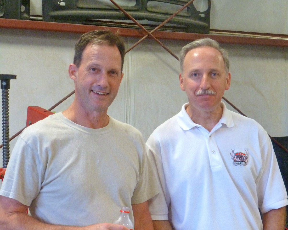 Ralph Sikes, Owner of American Resto Mod and Dave Vinson, Mechanic