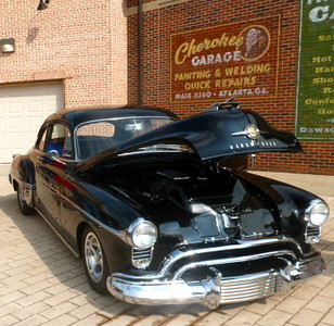 CAR OF THE MONTH, 1950 OLDSMOBILE