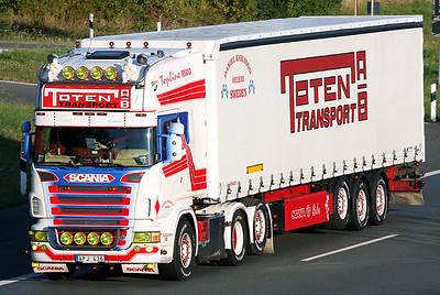 German Autobahn and Trucks