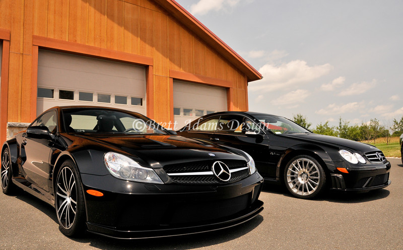 Mercedes Benz SL65 Black Series<br /> Mercedes Benz CLK63 Black Series