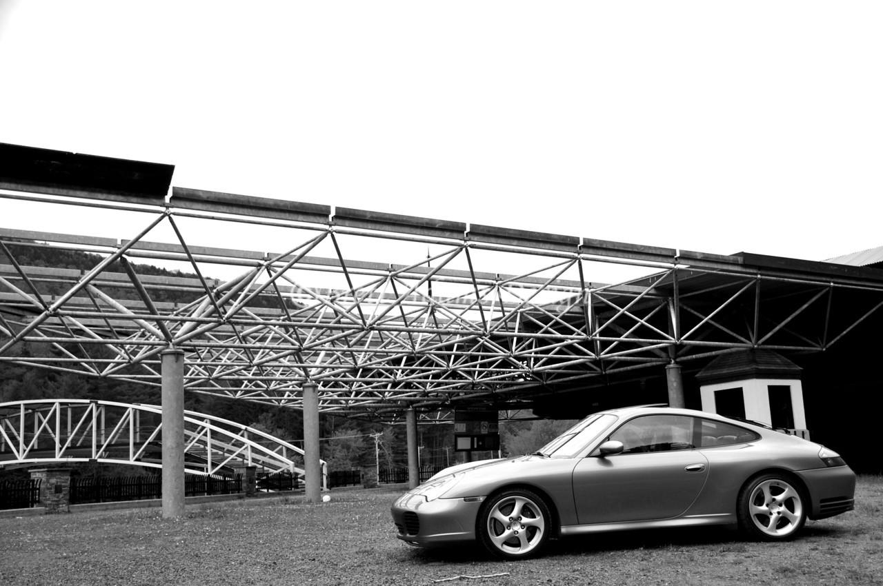 Porsche 911 - Under the ChairLift - Killington, VT