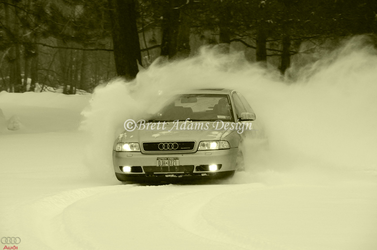 Audi A4 -  Drift Session