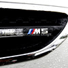 BMW M5 - Side vent close up