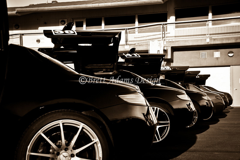 Mercedes Benz AMG SLS Tail End