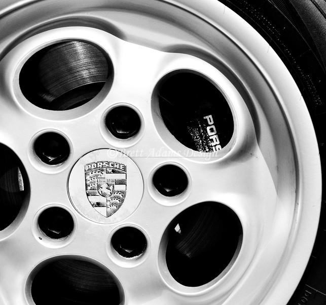 """Porsche 928 """"Phone Dial"""" Wheel"""