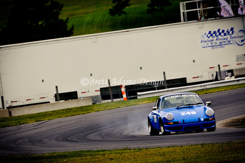 Lime Rock Park - 911 Exiting S turns