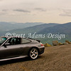 Porsche 911 C4S - Overlook at Mt Washington, NH