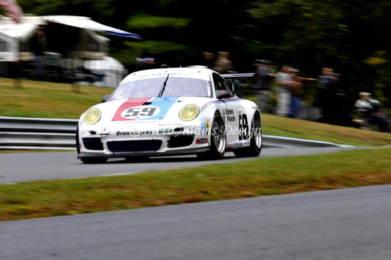 Brumos Porsche 997 GT3 RSR at Lime Rock Rolex<br /> Drivers:<br /> Davis, A<br /> Keen, L