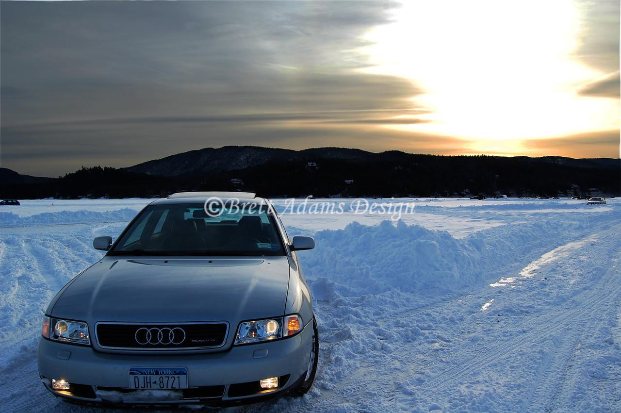 Ice Racing Newfound Lake, NH
