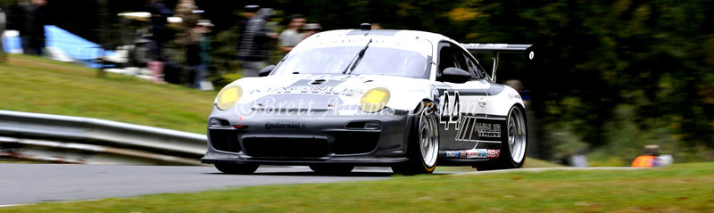 Magnus Racing 997 GT3 RSR at Lime Rock Rolex <br /> Drivers:<br /> Lally, A<br /> Potter, J