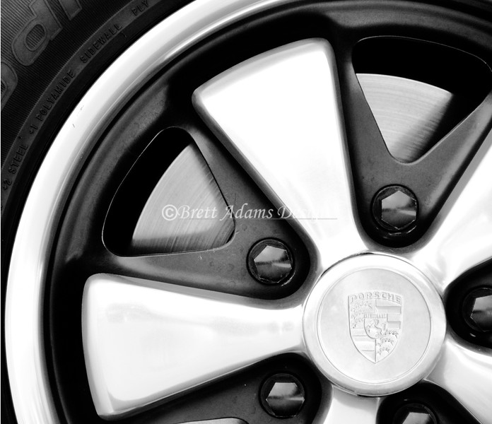 Porsche Fuchs Style Wheel